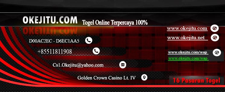 Prediksi Togel jitu 16 Pasaran Togel resmi,Okejitu Situs Resmi Togel Terpercaya terjamin 100%.